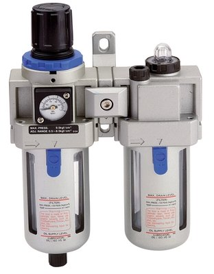 "Verzorgingsset 3/8"" (filter regulator & smeerpot) (1501)"