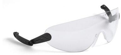 Veiligheidsbril geintegreerd in helm