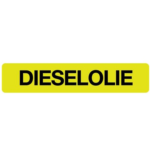 sticker dieselolie