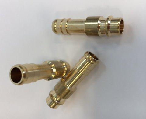 Luchtinsteeknippel + 3/8 slangtule (10mm)