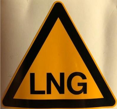 Sticker LNG custom