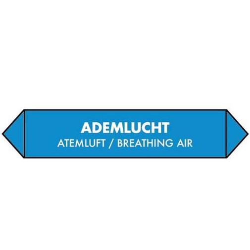 sticker ademlucht/atemluft/breathing air